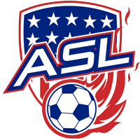The American Soccer League (ASL) logo