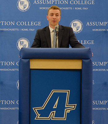 Congratulations To Scott Faucher – Named Assumption Men's Basketball Head Coach